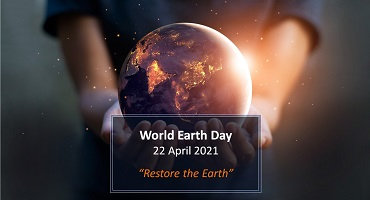 World Earth Day – 22 April 2021