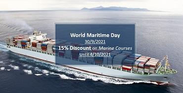 World Maritime Day – 15% Discount on all Marine eCourses!